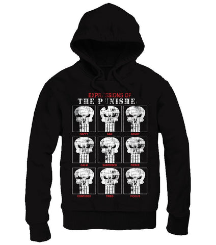 Punisher Expressions Men's Hoodie - BAY 57