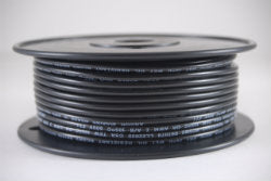 10 AWG Primary Wire Marine Grade Tinned Copper Black 25 ft