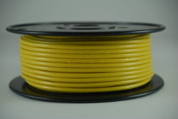 10 AWG Primary Wire Marine Grade Tinned Copper Yellow 25 ft