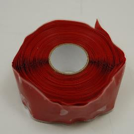 Self Fusing Silicone Tape  Red 20 ft roll