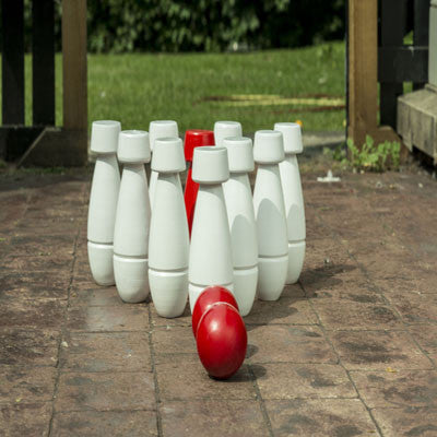 Play Skittles at your next garden party