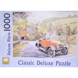 The Bull Nose Morris: 1000 Piece Classic Deluxe Jigsaw Puzzle