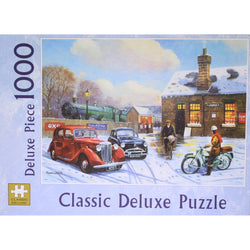 The Arrival: 1000 Piece Classic Deluxe Jigsaw Puzzle