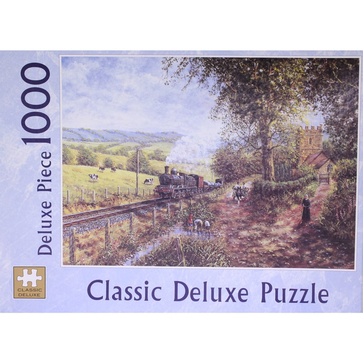 Morning Service: 1000 Piece Classic Deluxe Jigsaw Puzzle