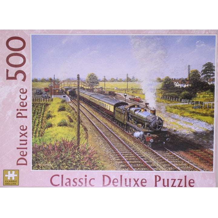 A Saint At Radley train Jigsaw