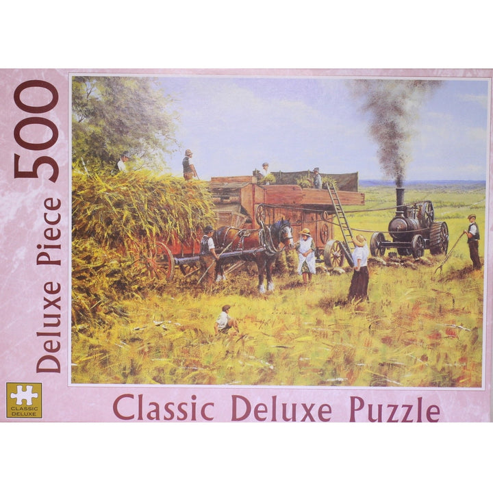 Whilst The Sun Shines: 500 Piece Classic Deluxe Jigsaw Puzzle
