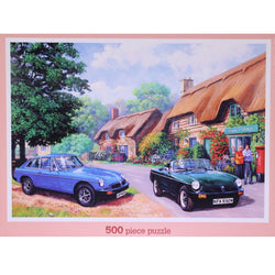Country Drive: 500 Piece Classic Deluxe Jigsaw Puzzle