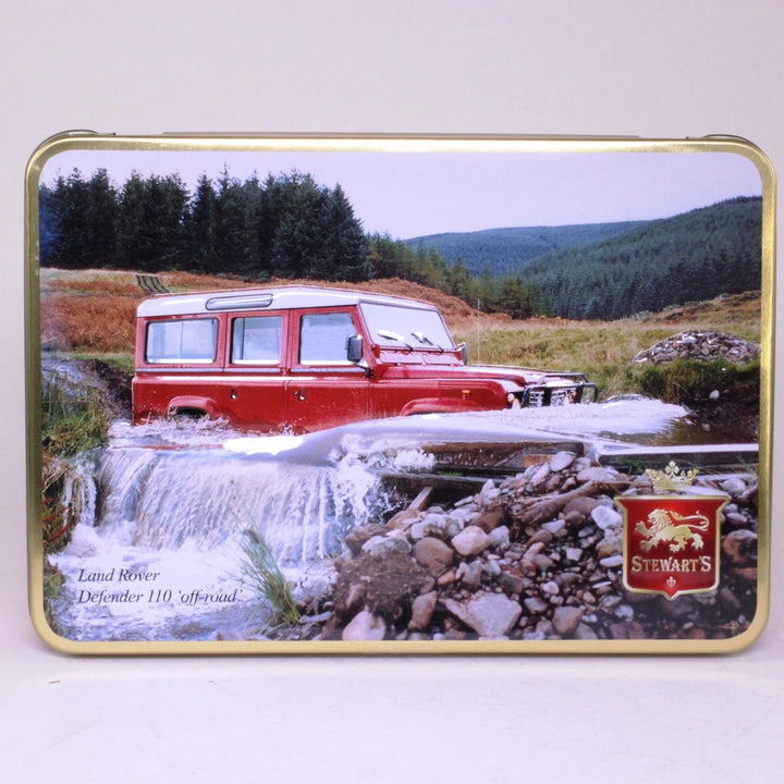 Stewart's Scottish Shortbread Tin: Land Rover