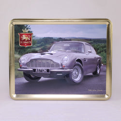 Stewart's Scottish Shortbread Tin: 1960S Silver Aston Martin 400g