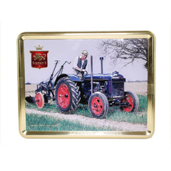 Stewart's Scottish Shortbread Tin; Fordson Tractor and Plough; 400g