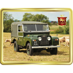 Stewart's Scottish Shortbread Tin: Classic Land Rover 400g