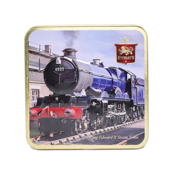 Stewart's Scottish Fudge Tin; King Edward II Steam Train; 190g