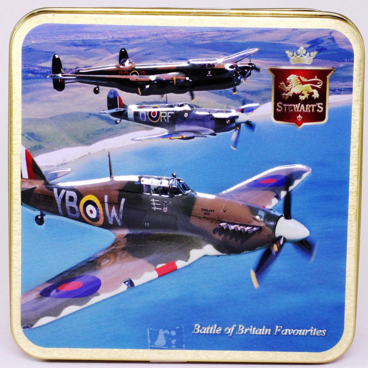 Stewart's Scottish Fudge Tin: Battle of Britain