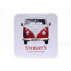 Stewart's Scottish Fudge Tin: VW Campervan; 190g