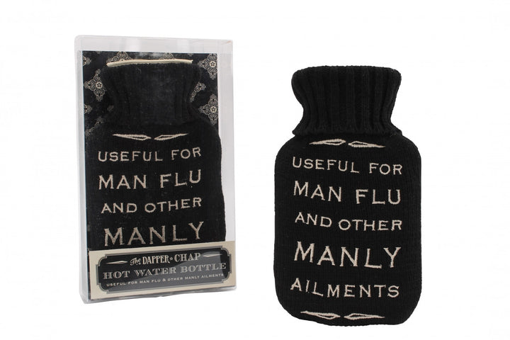 Man Flu Hot Water Bottle