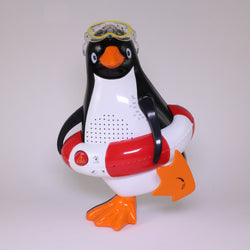 AM/FM Penguin Shower Radio; Water Resistant AM/FM Radio from Steepletone