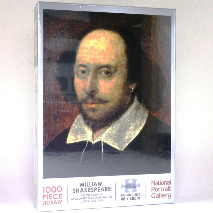 National Portrait Gallery Jigsaw of William Shakespeare