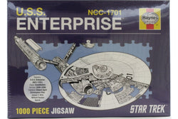 USS Enterprise 1000 Piece Jigsaw