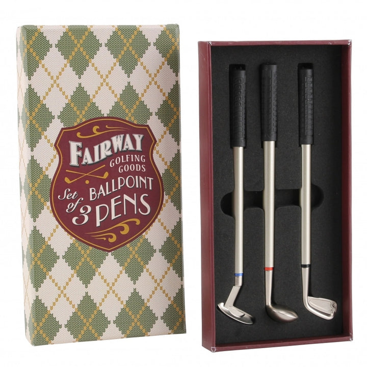 Golf Club Pen Gift Stocking Filler