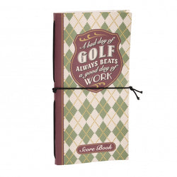 Golf Score Pad Gift Stocking Filler