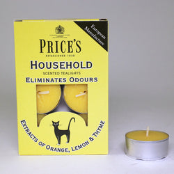 Price's candles: Odour Cancelling Tea Lights - Household and Pets