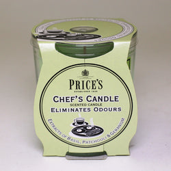 Price's candles: Odour Cancelling Candle in a Jar - Chef's