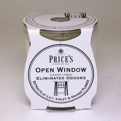 Price's candles: Odour Cancelling Candle in a Jar - Open Window