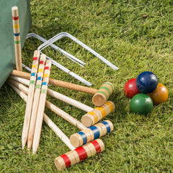 Croquet Set in Canvas Bag