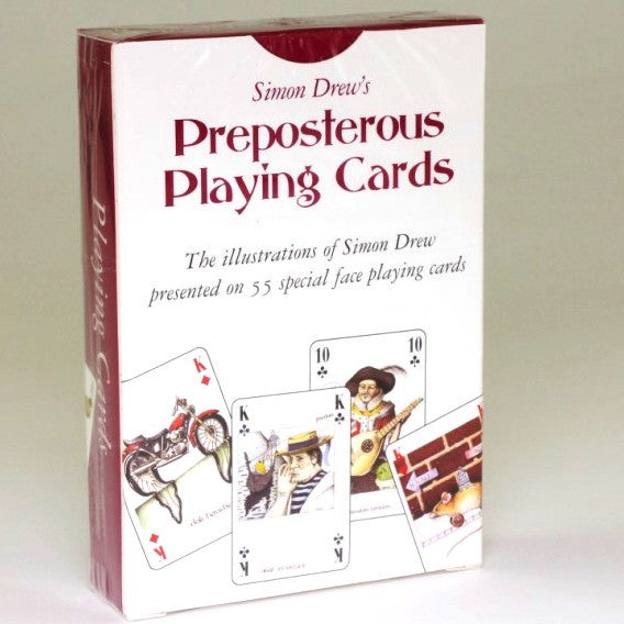Preposterous Playing Cards by Simon Drew
