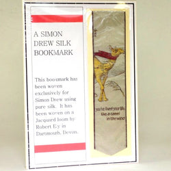 Camel in The Wind Silk Bookmark Simon Drew