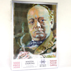 National Portrait Gallery Jigsaw of Winston Churchill