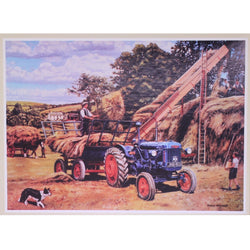 Making a Hayrick: 500 Piece JR Puzzles Jigsaw Puzzle