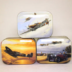 Set of Three Spitfire Tins with Mint Humbugs