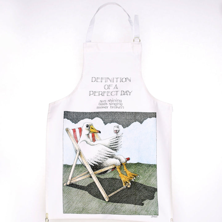 Definition of a Perfect Day Apron