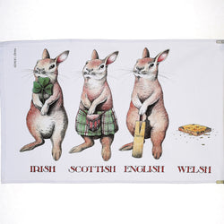 Welsh Rabbit Tea Towel