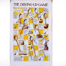 The Drying Up Game Tea Towel