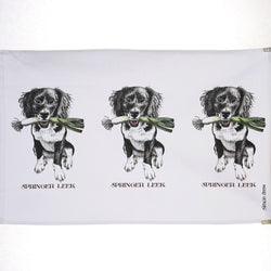 Springer Leek Tea Towel