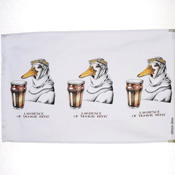 Lawrence of Hooray Beer Tea Towel