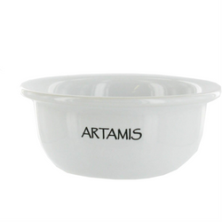 Ceramic Shaving Bowl - White