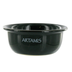 Ceramic Shaving Bowl - Black