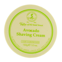 Avocado Shaving Cream Bowl 150g, Taylor of Old Bond Street