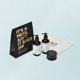 "Luxury Hair Care Set - ""It's a Mess Aint it"" by Triumph & Disaster"
