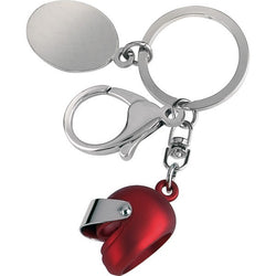 Racing Helmet Key Ring