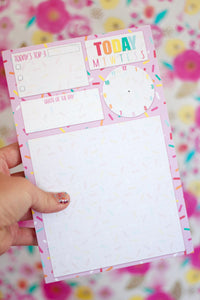 Sprinkle Kindness Daily To-Do Notepad