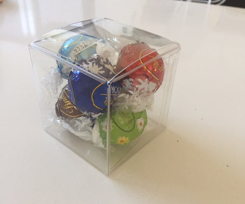 5 Piece Lindt Cube with Ribbon