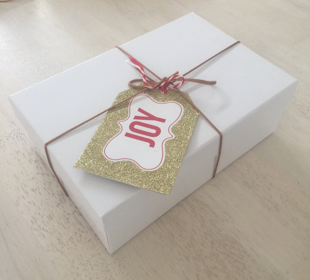 Christmas Lindt White Gift Box