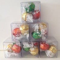 Christmas 3 Piece Lindt Cube