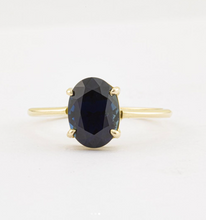 Load image into Gallery viewer, Oval Sapphire Ring