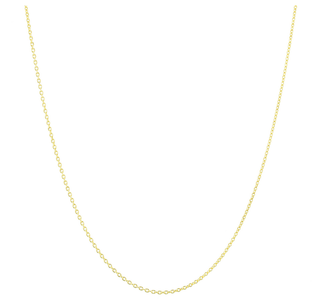 Cable Link Gold Chain