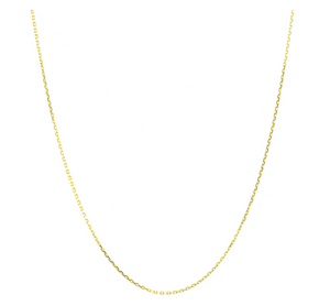 Diamond Cut Gold Chain